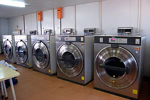 Manna Commercial Washer Dryer Hotel Hospital Laundry